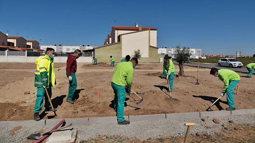 Moraleja del Vino instalará una nueva zona de ocio con pista de patinaje y parque infantil