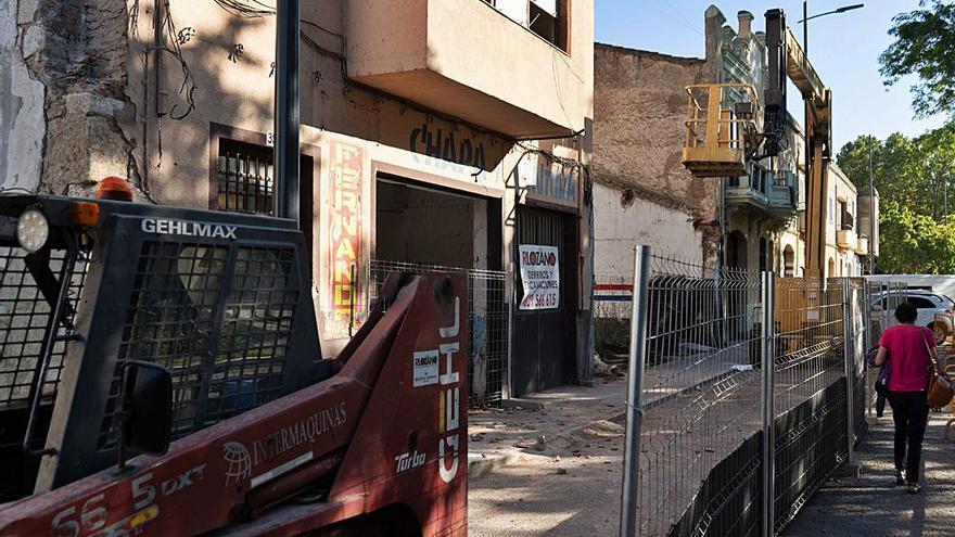La muralla de Zamora gana terreno en la avenida de la Feria