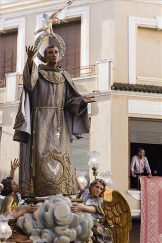 Procesión a la basílica de Sant Pasqual