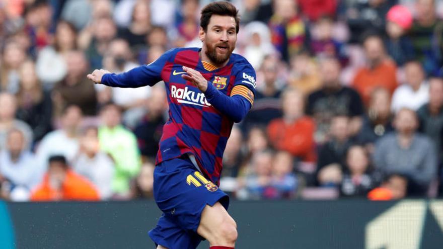 Messi capitaneja una magnífica golejada del Barça
