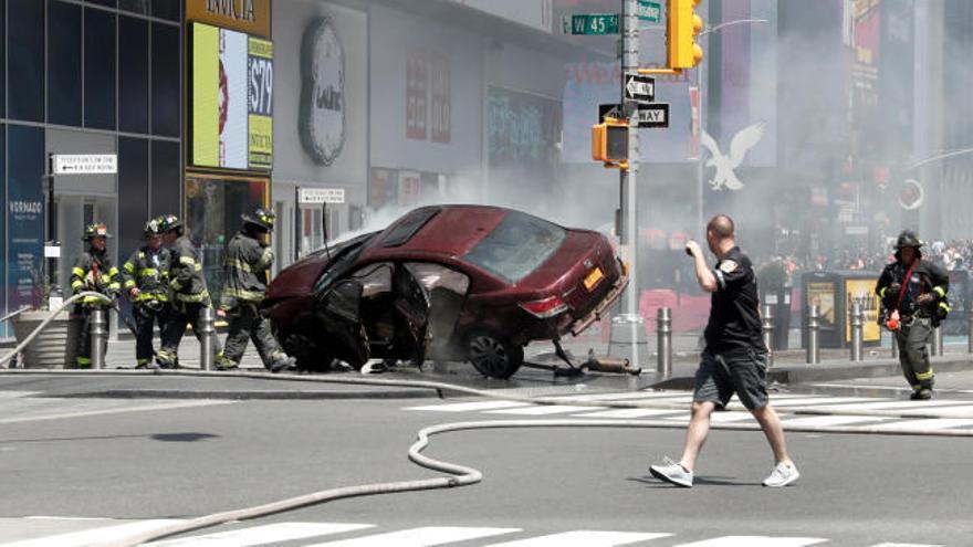 Un muerto y 22 heridos en un atropello en Nueva York