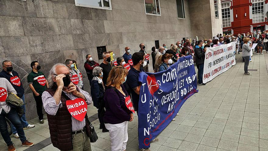 Clamor en Gijón por la sanidad pública y la atención primaria