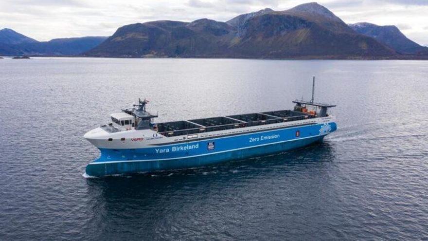 Los primeros buques 100% eléctricos ya surcan los mares