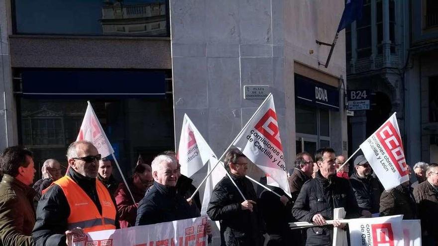Zamora | La concentración por la subida de las pensiones solo reúne a 50 personas