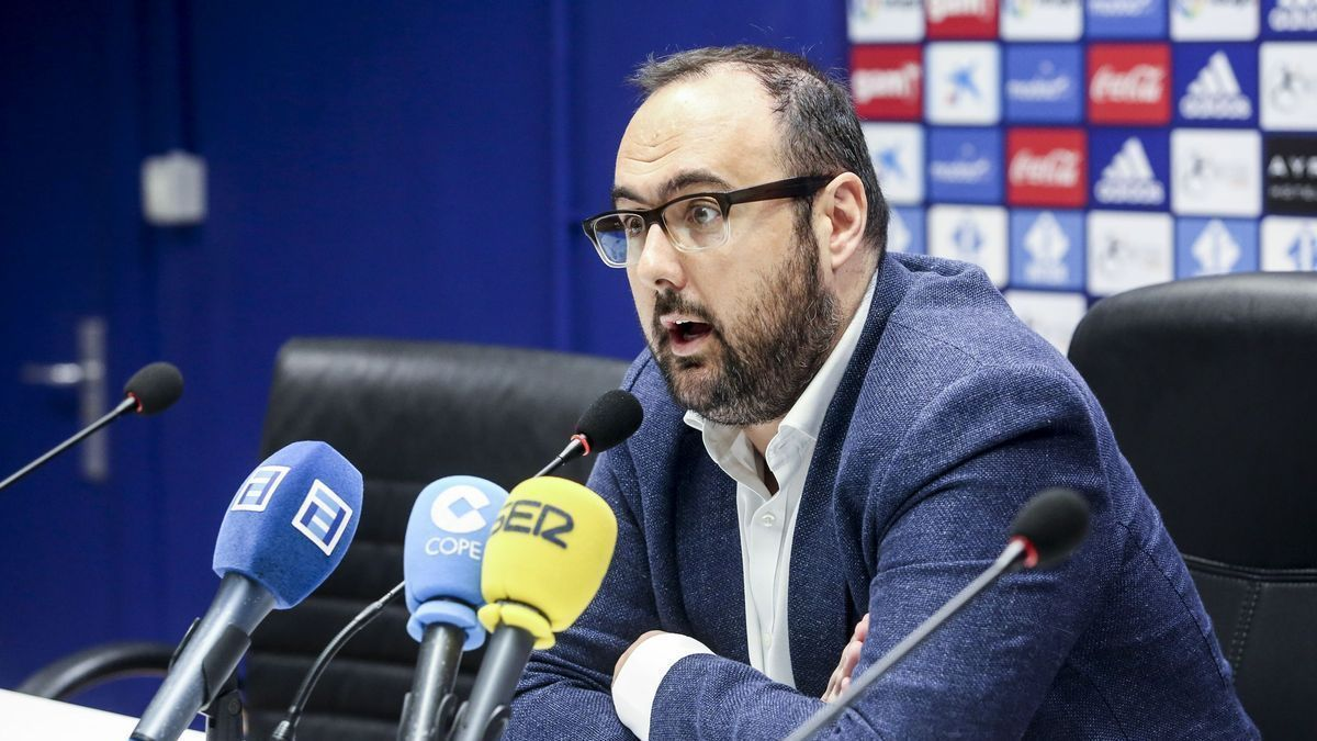 David Mata, gerente del Oviedo