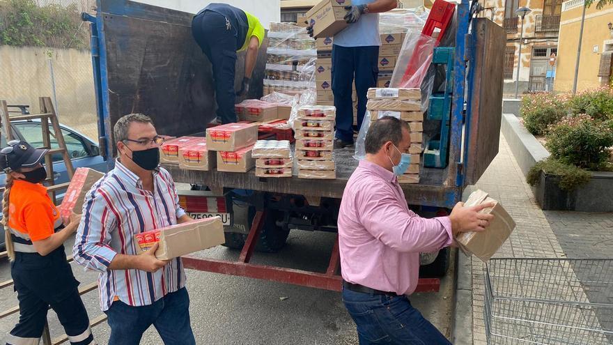 Seis toneladas de alimentos para los más necesitados de El Campello