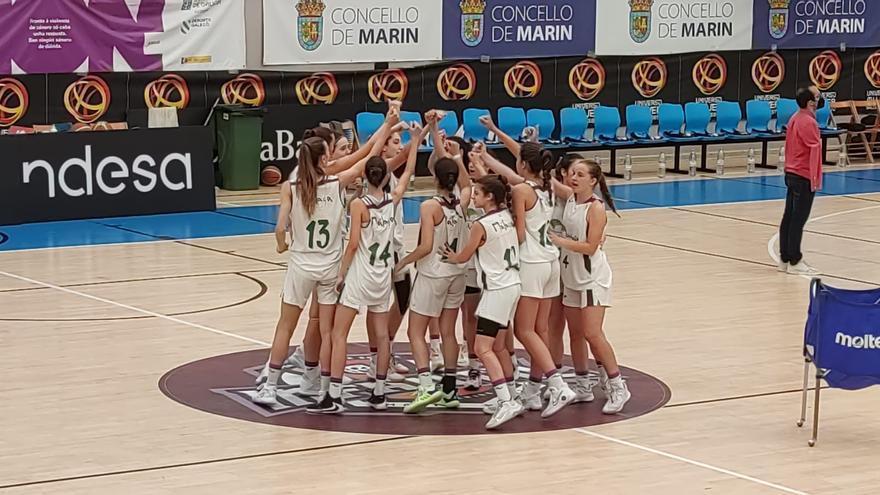 El Unicaja infantil femenino se mete en semifinales del Campeonato de España