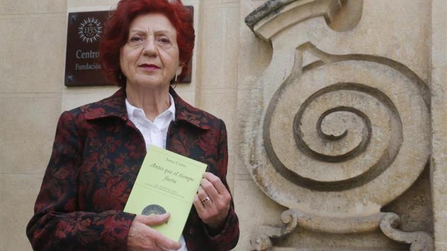 La escritora Juana Castro recibirá el Premio de Poesía Ciudad de Cabra 2019