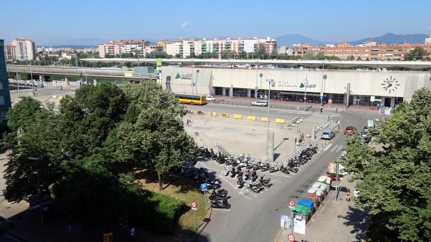 Adif enllesteix el projecte per reurbanitzar la plaça Espanya de Girona i avala la proposta feta per l'Ajuntament