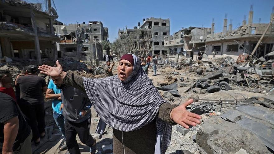 Nueva jornada de terror por el intercambio de bombardeos entre Israel y las milicias palestinas