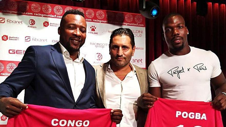 Edwin Congo y el hermano de Pogba fichan por el Racing Murcia