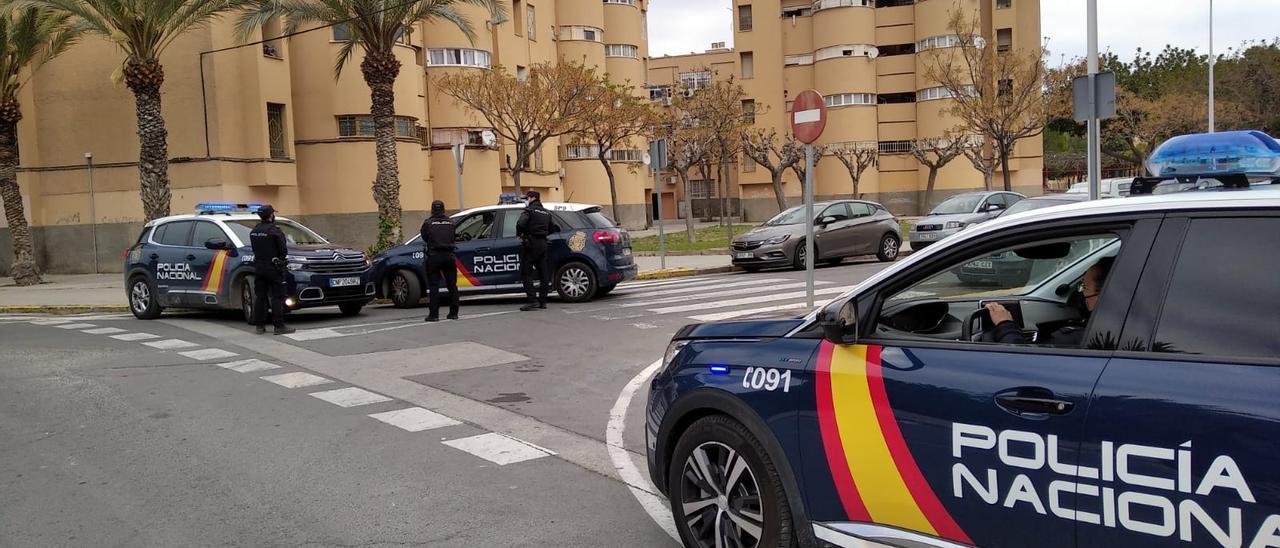 Detenido el autor de un robo con violencia e intimidación en Elche