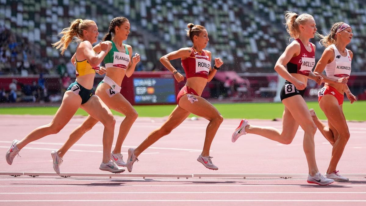 La andaluza Carolina Robles compite en los Juegos de Tokio.