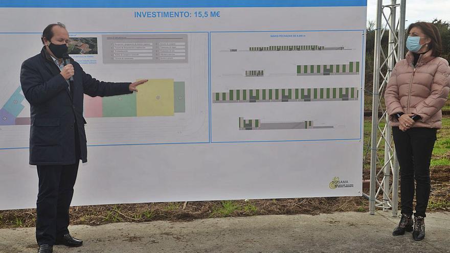 El PSOE reclama contraprestaciones para Baión por la planta de Sogama