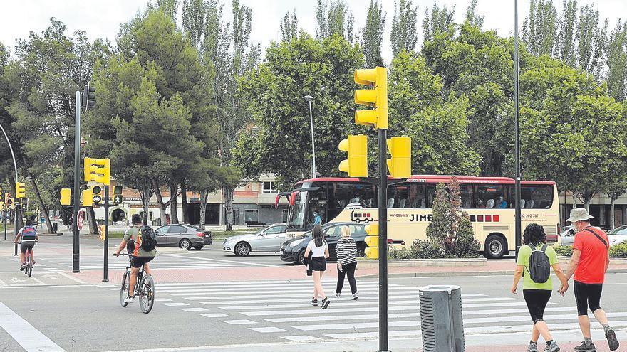 Solo el 27% de los semáforos están adaptados para personas invidentes