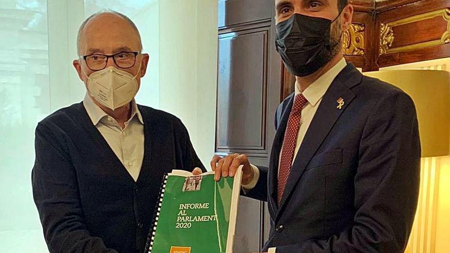 El Síndic reclama més inversió social després de rebre 11.000 queixes