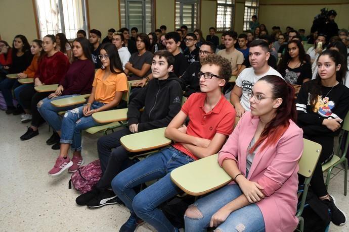 19/11/2018 TELDE. Alumnos del IES José Frugoni ...