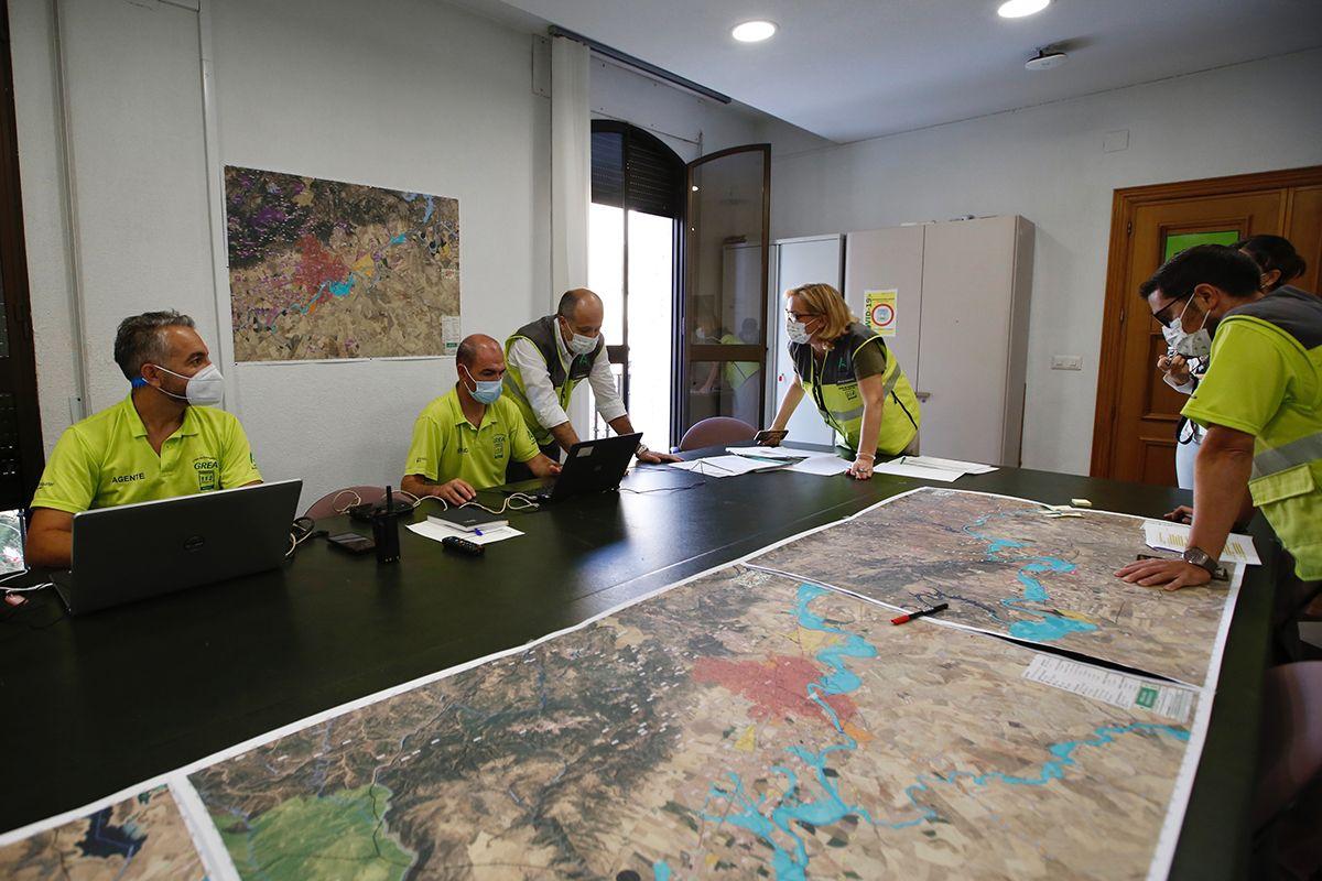 Simulacro de emergencias 112 Andalucía
