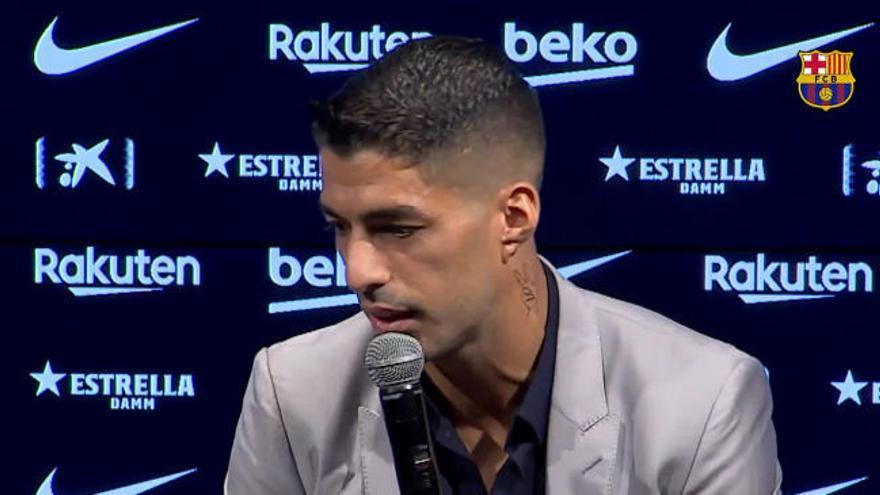 """Luis Suárez: """"El entrenador no contaba conmigo"""""""