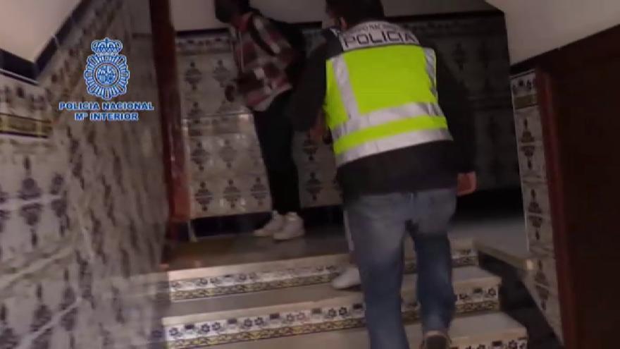 Cae en Cádiz una organización dedicada a la trata de seres humanos para su explotación laboral