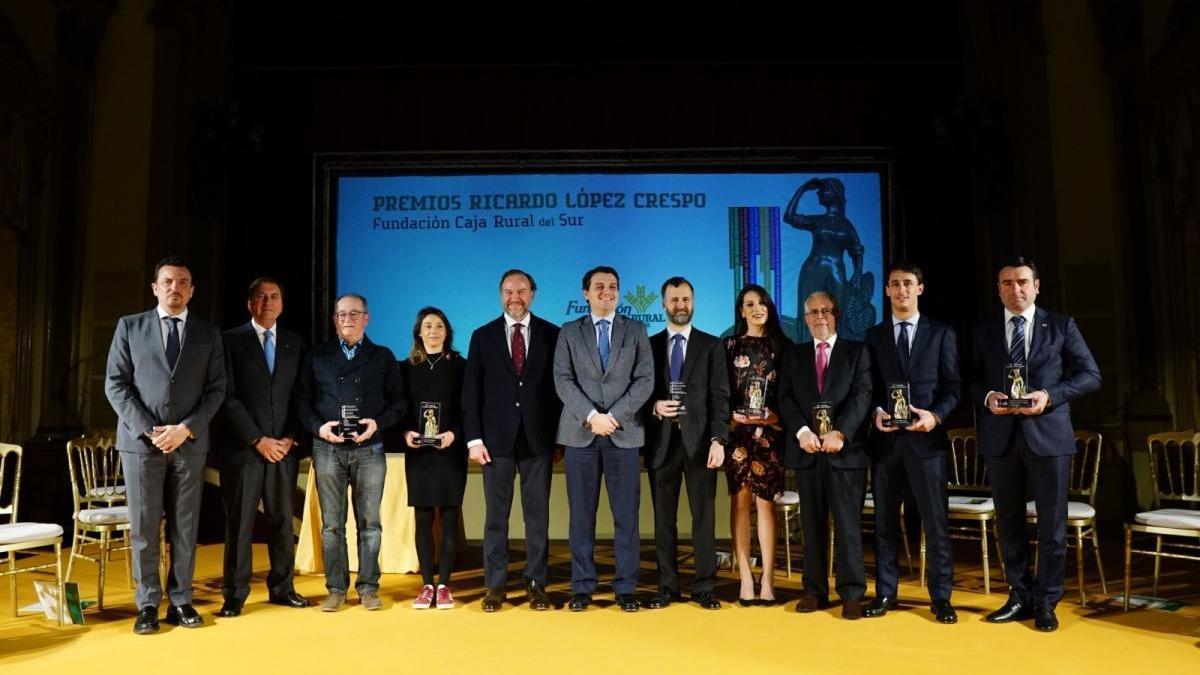 La Fundación Caja Rural del Sur premia la cultura del éxito y de la excelencia