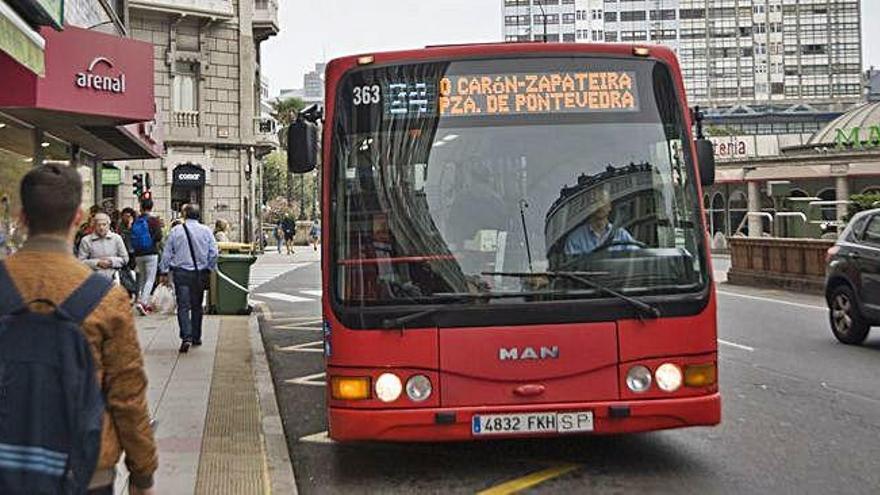 Luz verde de la Xunta a que la línea 24 del bus urbano llegue a Arteixo y Culleredo