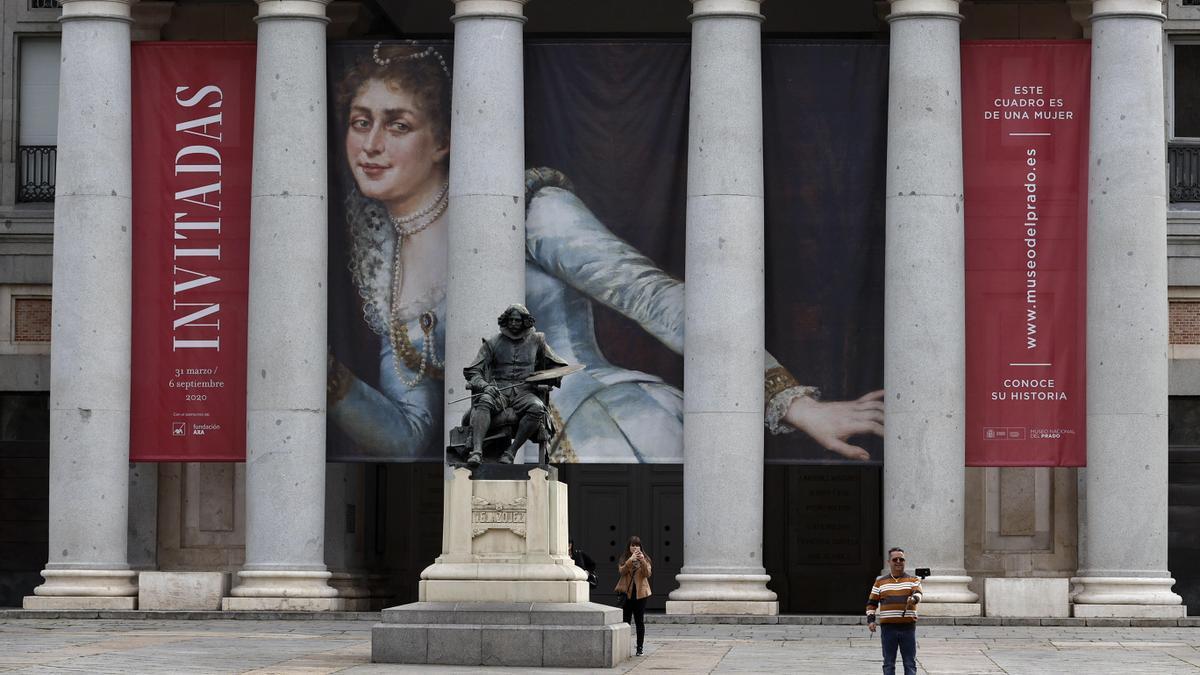 Fachada del Museo del Prado.