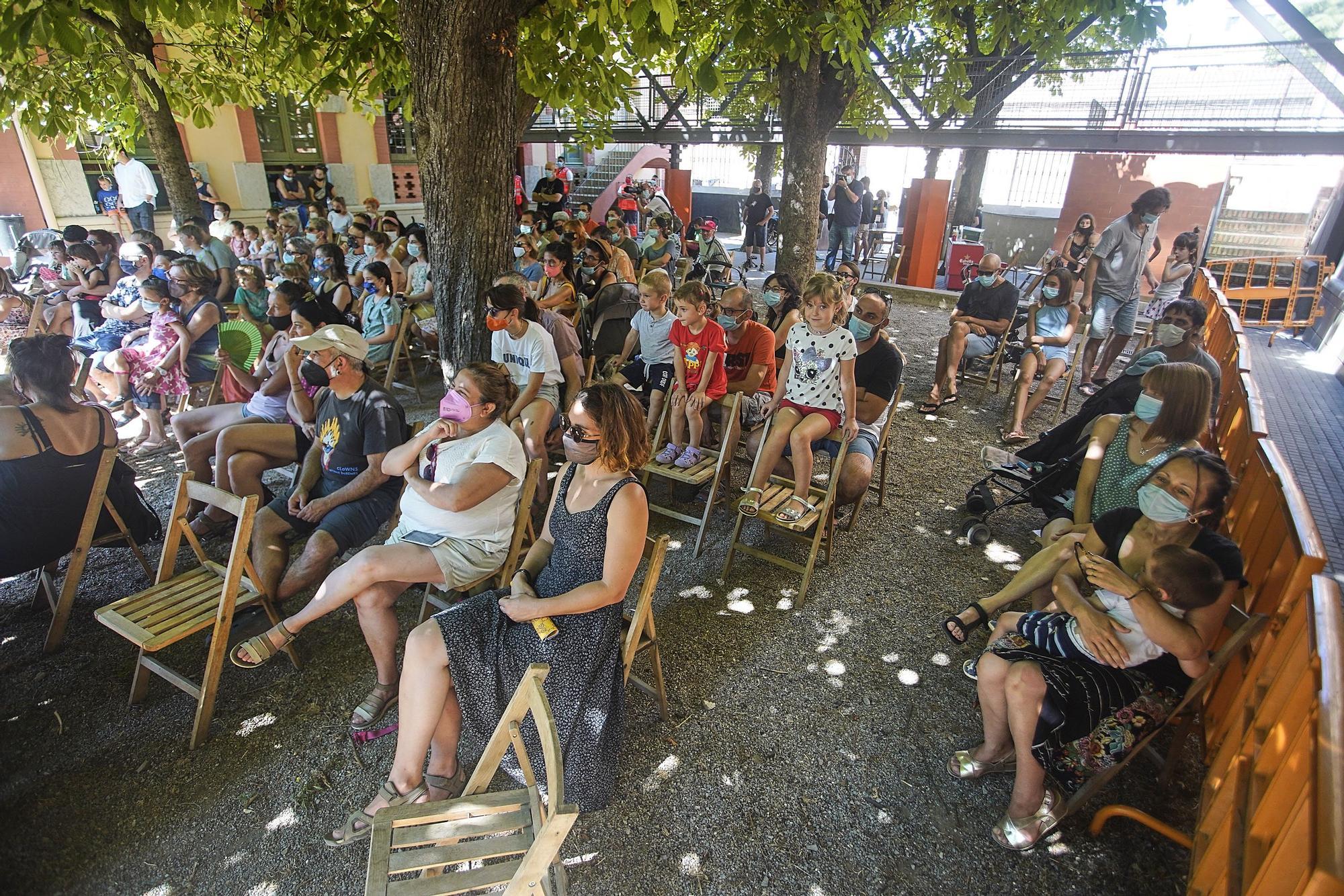 La Fira de Circ al Carrer de la Bisbal tanca amb el 90% d'ocupació