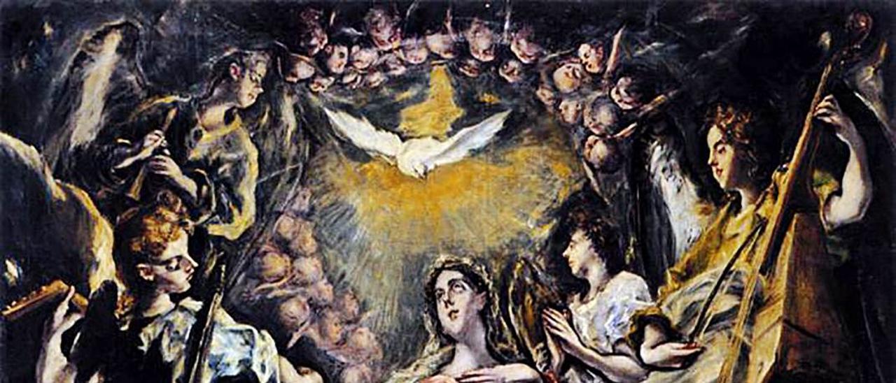 La Inmaculada Concepción del Greco de  la Fundación Selgas.