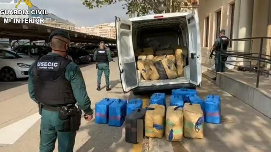Interceptados más de 8.000 kilos de hachís en Vinaròs en 5 meses