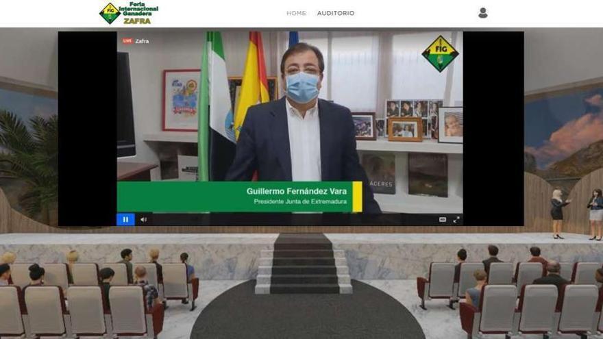 Zafra pone en valor la importancia del sector ganadero en tiempos de pandemia