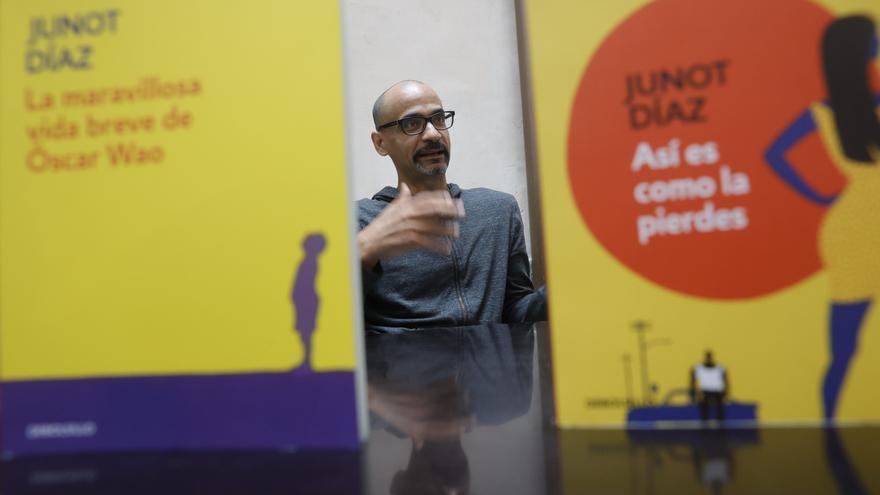 """Junot Díaz: """"Soy escritor por las lecturas que he hecho"""""""