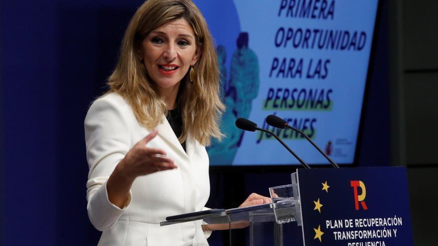 Díaz, Colau y Oltra mostrarán su alianza de izquierdas en un acto sin Podemos