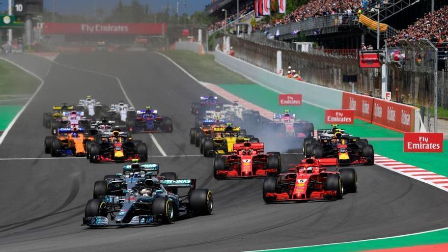 Lewis Hamilton repite victoria en Montmeló