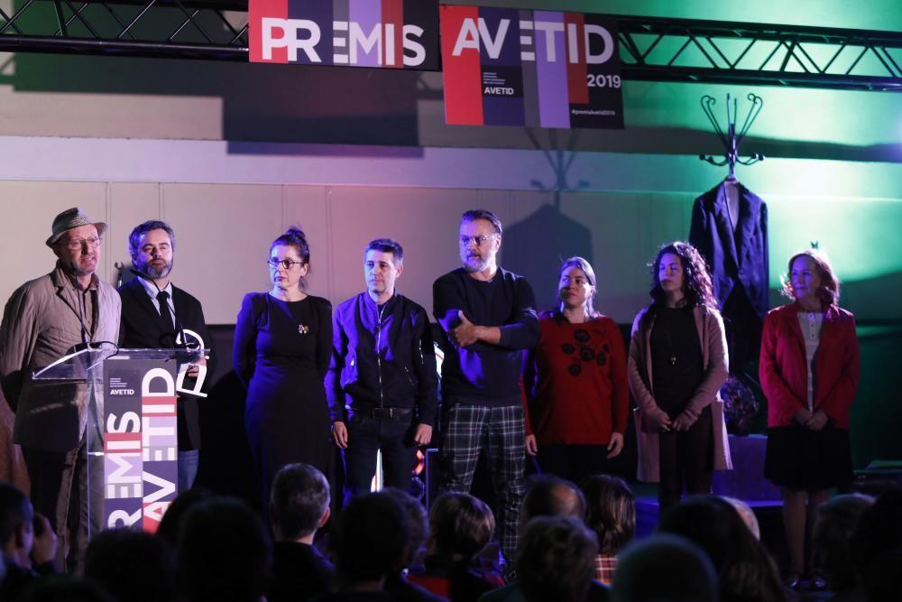 Edición 2019 de los premios de L'Associació d'Empreses d'Arts Escèniques del País Valencià (Avetid)