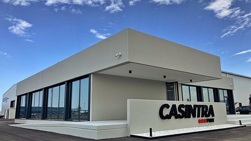 Casintra estrena una instalación de 15.000 metros cuadrados en El Musel