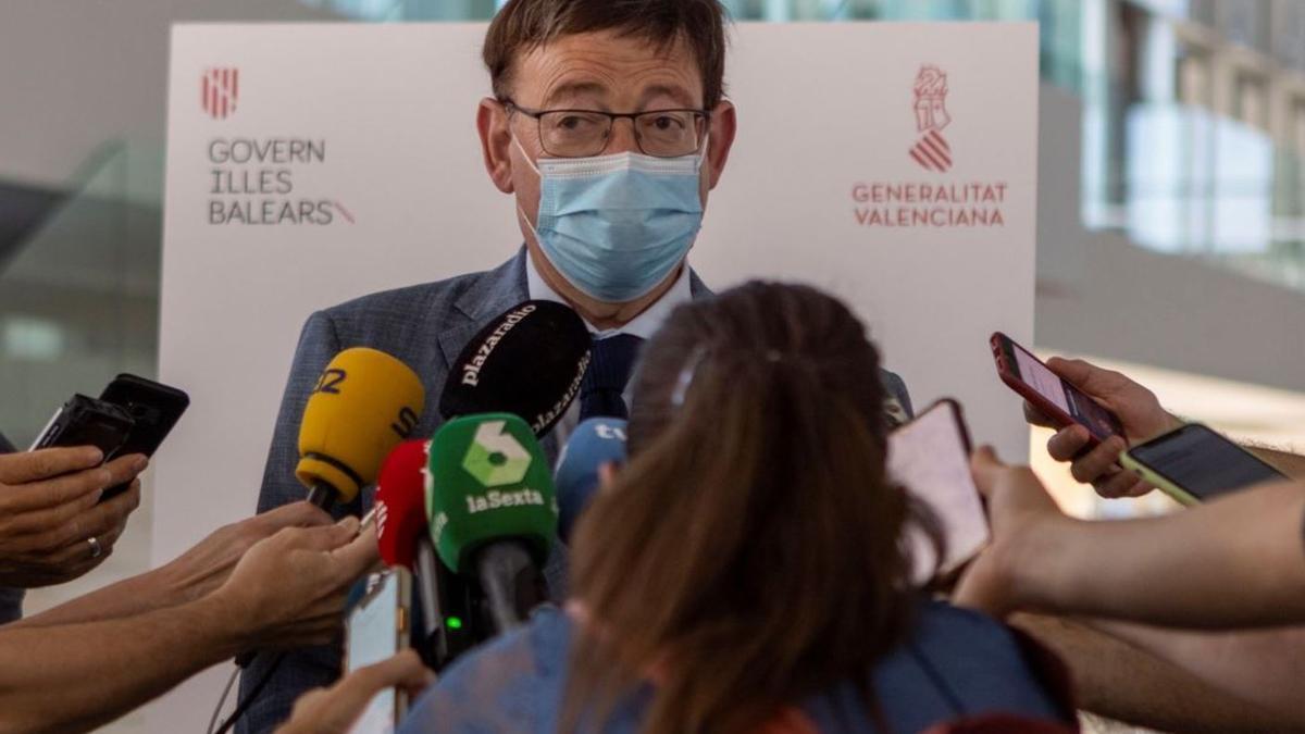 "Ximo Puig ya avanza ""decisiones"" si la subida de contagios no frena en la Comunitat"