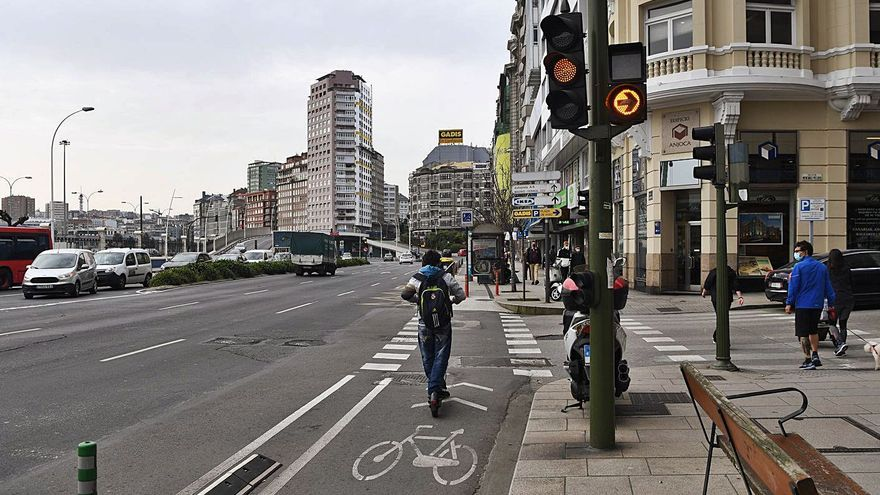 Los carriles bici de Salvador de Madariaga y Pablo Picasso se conectarán en Pajaritas