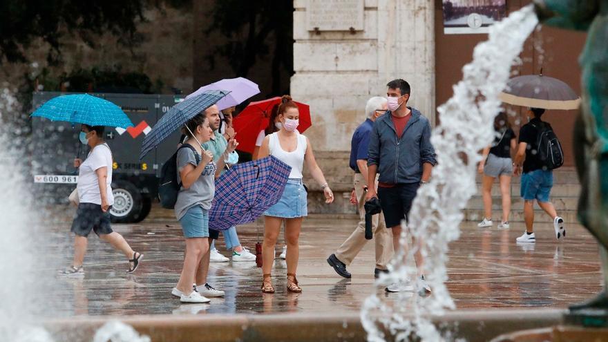 El tiempo en València: calor con posibles lluvias de verano
