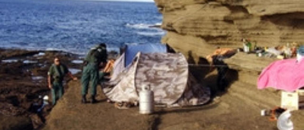 El Seprona, bajo mínimos en Lanzarote