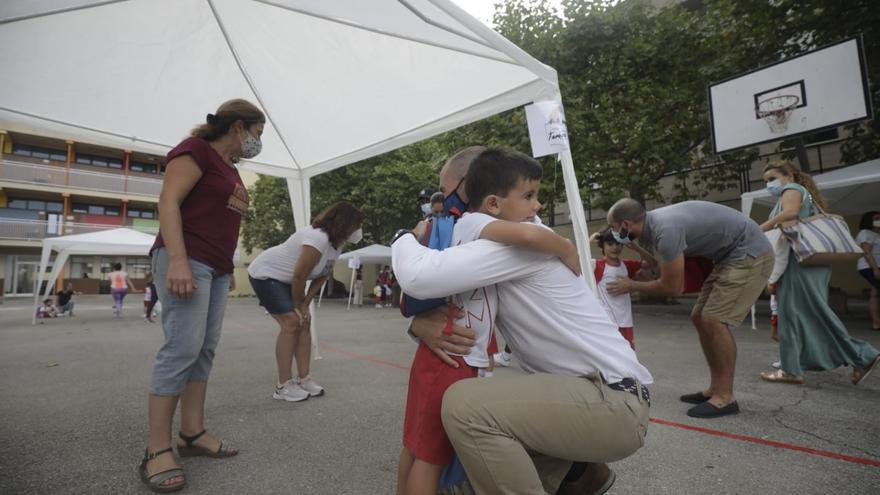 Vuelta al 'cole': niños y profes superan la prueba