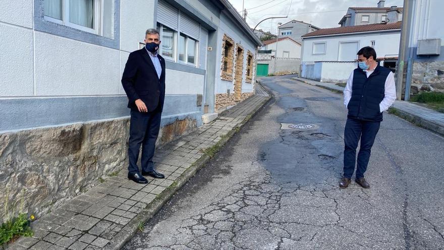 Así están las 10 calles de Vigo que necesitan un asfaltado urgente, según el PP
