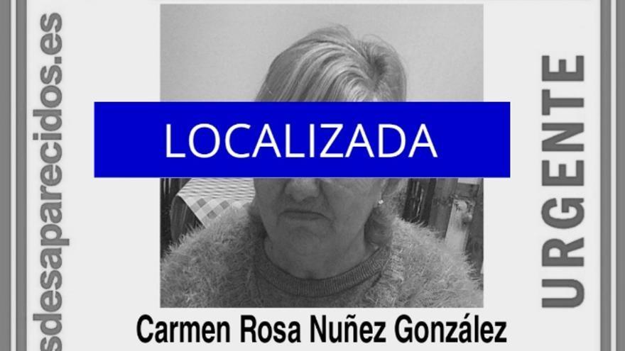 Localizan a la mujer desaparecida en La Laguna