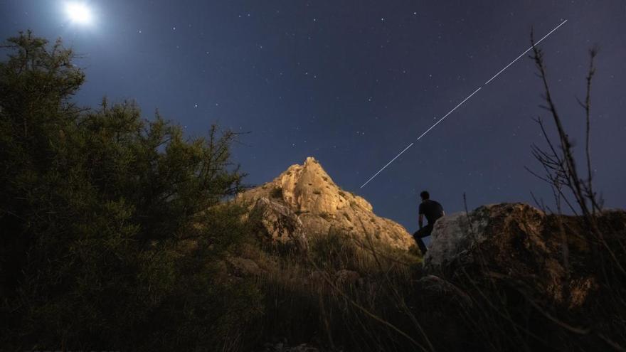 Así se vio la ISS desde el cielo de Elda