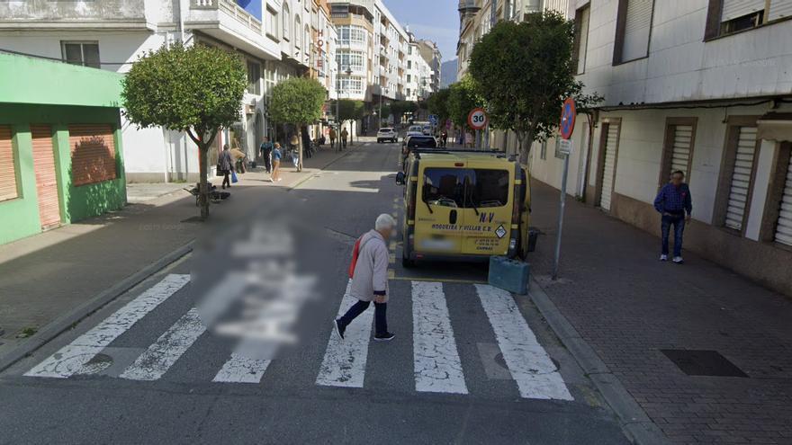 Un cangués herido tras sufrir una agresión en la Avenida de Marín