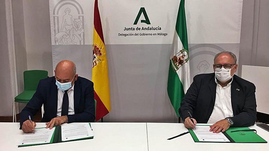 Firmado el protocolo para el nuevo centro de salud de Cómpeta