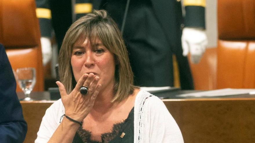 La jueza cita como imputada a Núria Marín en el caso del Consell de l'Esport