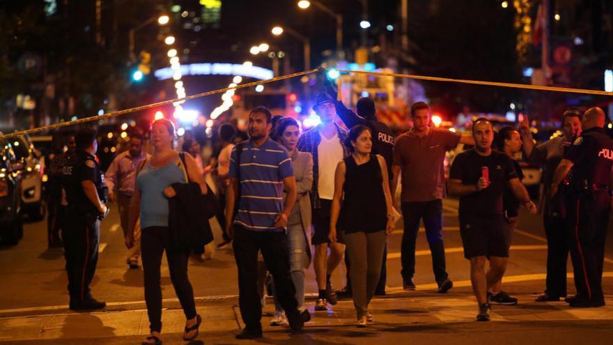 Un tiroteo en Toronto deja al menos dos muertos