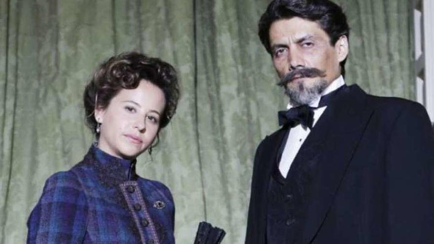 La 1 estrena el jueves una ficción sobre el gran amor de Rubén Darío