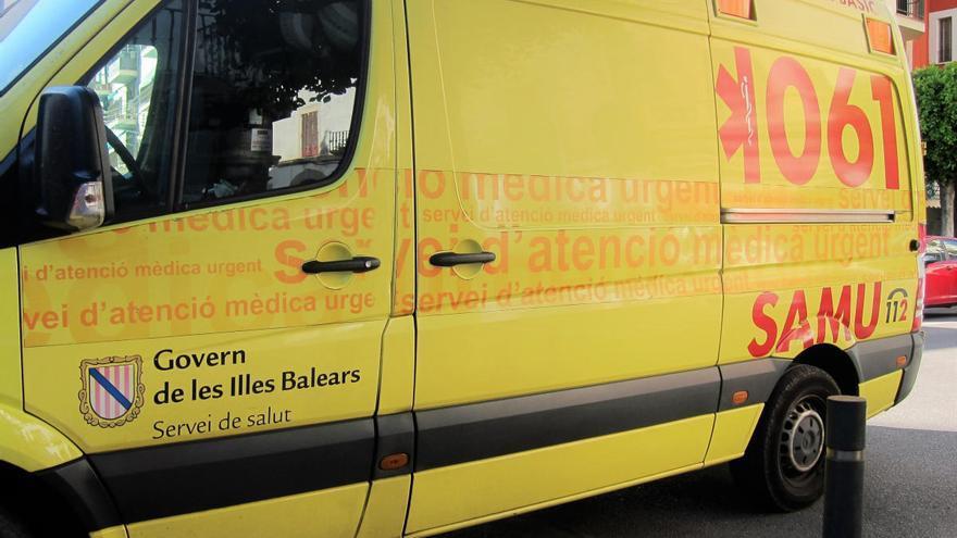 Herido de gravedad un ciclista suizo tras sufrir una caída en la carretera de Cala Pi